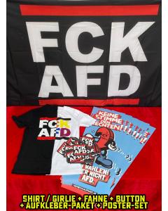 KEIN BOCK AUF NAZIS 'FCK AFD Crew' Bundle
