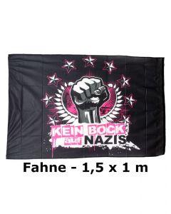 KEIN BOCK AUF NAZIS 'Faust' Fahne