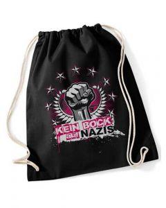 KEIN BOCK AUF NAZIS 'Faust' Turnbeutel