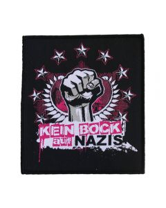 KEIN BOCK AUF NAZIS 'Faust' Aufnäher
