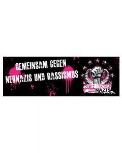 KEIN BOCK AUF NAZIS 'Festival-Banner' Banner