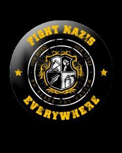 KEIN BOCK AUF NAZIS 'Fight Nazis' Button
