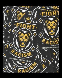 KEIN BOCK AUF NAZIS 'Lion - Fight Racism' 50er Aufkleber Paket
