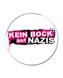 KEIN BOCK AUF NAZIS 'Logo' Button