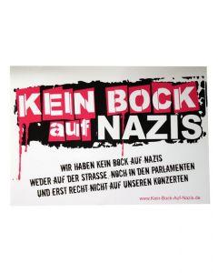 KEIN BOCK AUF NAZIS 'LOGO' Poster