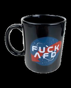 KEIN BOCK AUF NAZIS 'NASA' Tasse schwarz