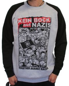 KEIN BOCK AUF NAZIS 'Together' Baseball Sweater